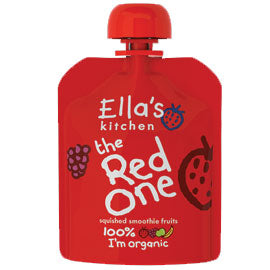 Ella's Kitchen The Red One Fruit Smoothie 90g