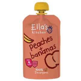 Ellas Kitchen Peaches and Bananas 120g