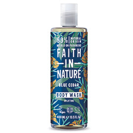 Faith In Nature Blue Cedar Body Wash 400ml