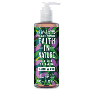 Faith in Nature Hand Wash Lavender & Geranium 300ml