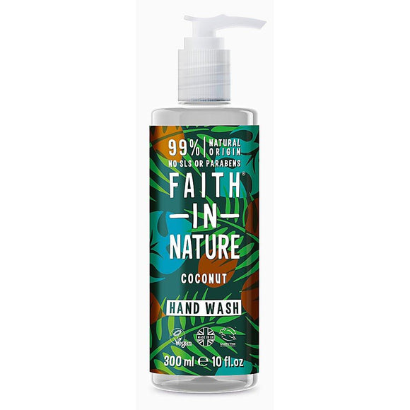 Faith In Nature Hand Wash Coconut 300ml