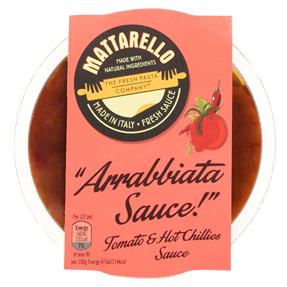 Fresh Pasta Co Arrabbiata Sauce 230g