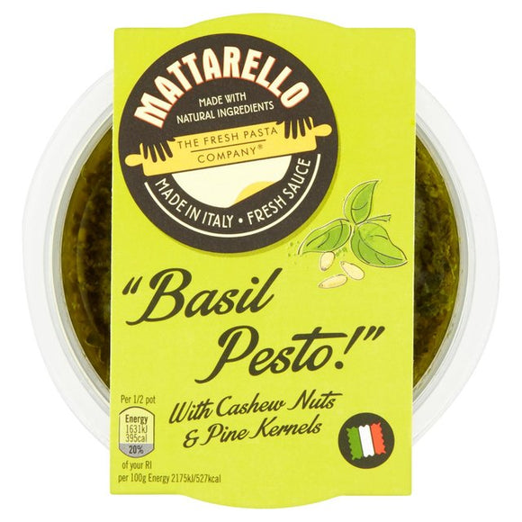 Fresh Pasta Co Basil Pesto 150g