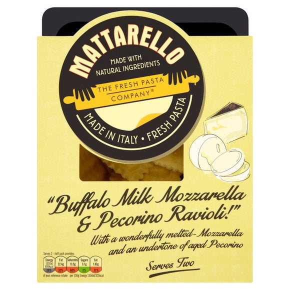 Fresh Pasta Co Buffalo Milk Mozzarella & Pecorino Ravioli