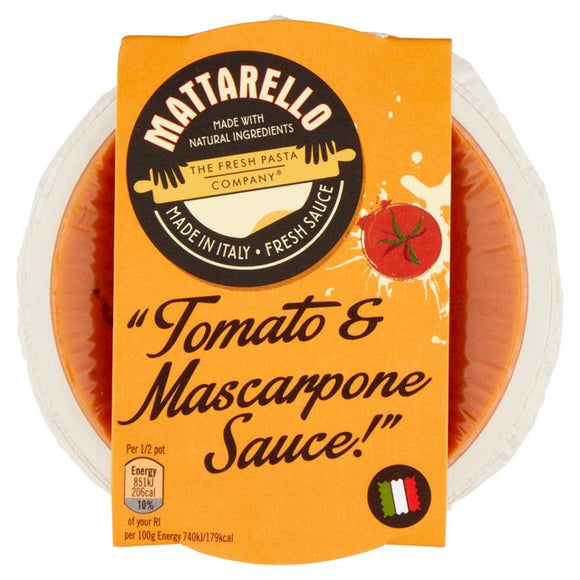 Fresh Pasta Co Tomato Mascarpone sauce 230g