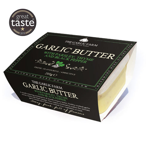 Garlic Farm Parsley Thyme & Black Pepper Butter 200g