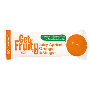 Get Fruity Juicy Apricot, Orange & Ginger Single Bars 35g