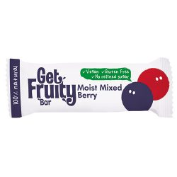Get Fruity Moist Mixed Berry Single Bars 35g