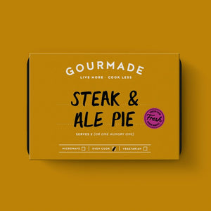 Gourmade Steak and Ale Pie 350g