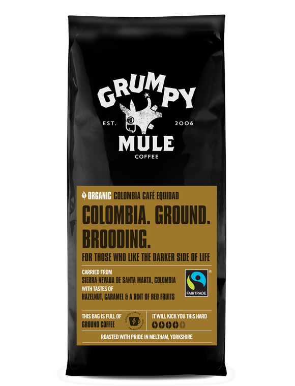Grumpy Mule Colombia Ground