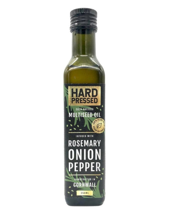 Hard Pressed Rosemary Onion Pepper Oil 250ml