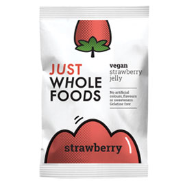 Just Wholefoods Strawberry Jelly Crystals 85g