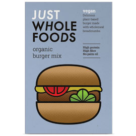 Just Wholefoods Vegan Burger Mix 125g