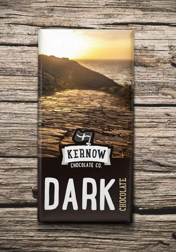 Kernow Chocolate Dark Chocolate 100g