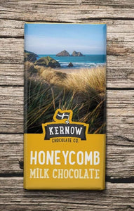 Kernow Honeycomb Milk Choc Bar 95g