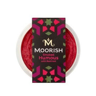 Moorish Smoked Humous with Beetroot 150g