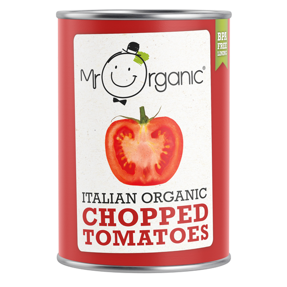 Mr Organic Organic Italian Chopped Tomatoes 400g