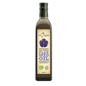 Mr Organic Organic Cold Pressed Flaxseed Oil 250ml