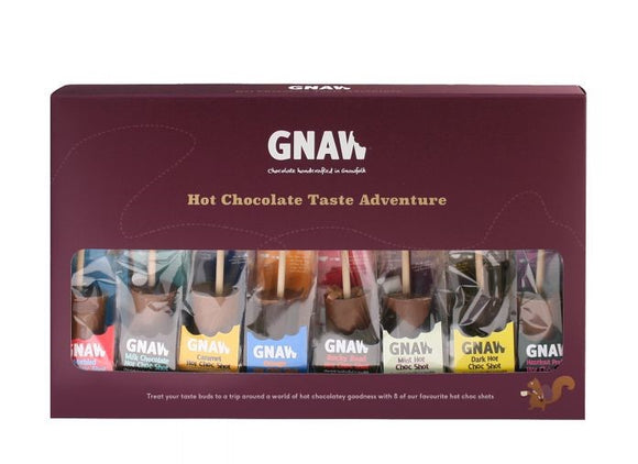Gnaw Chocolate Hot Shot Taste Adventure 400g
