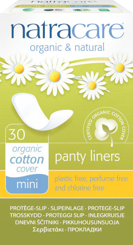 Natracare Panty Liners Mini 30