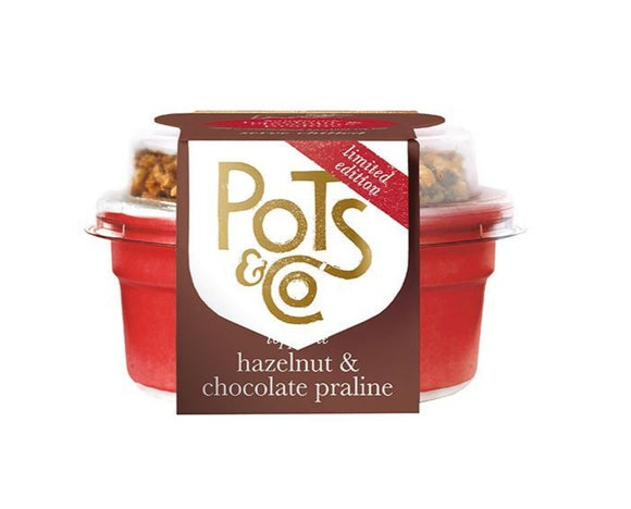 Pots & Co Hazelnut Chocolate Parline 85g