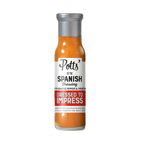 Potts Roasted Peppers  & Paprika Dressing 240ml