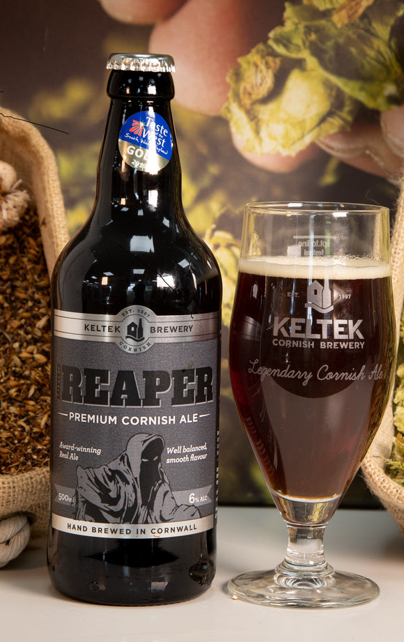Keltec Brewery- Reaper Cornish Ale 500ml 6% ABV