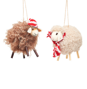 Sheep Felt Decoration - Assorted