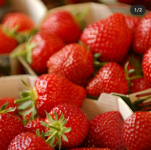 Strawberry Punnet from the farm BUY 2 GET 1 FREE!