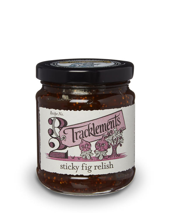Tracklements Sticky Fig Relish