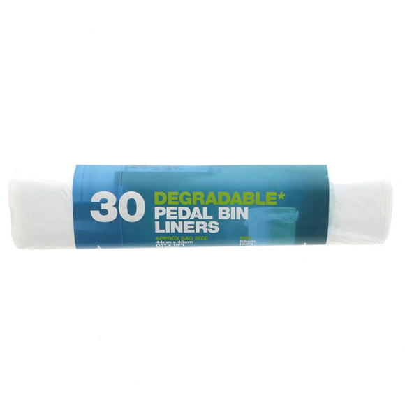 Degradable Pedal Bin Liners 30