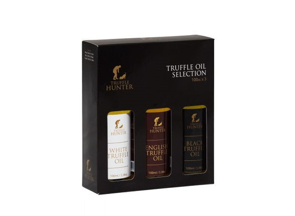 Truffle Hunter Gift Box of Truffle Oil Selection