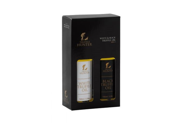 Truffle Hunter white & black Truffe oil set