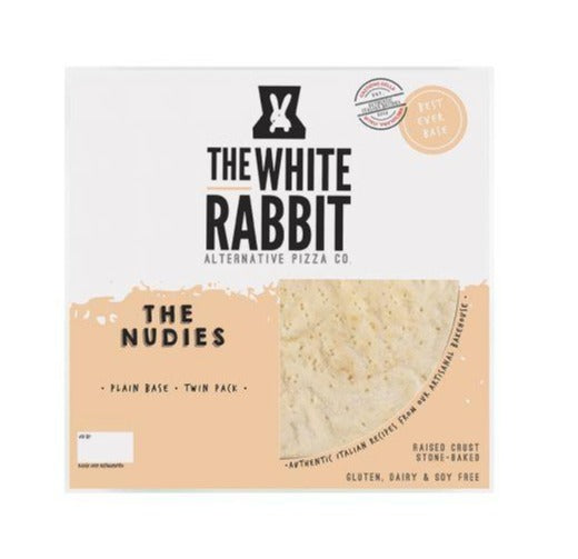 The White Rabbit Pizza Co Nude Pizza Base 2x200g
