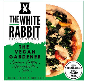 The White Rabbit Pizza GF Vegan Garden Pizza 340g