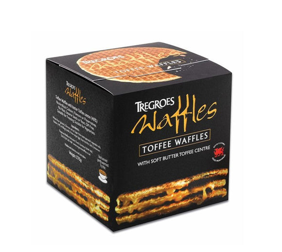 Tregroes Waffles Butter Toffee 260g