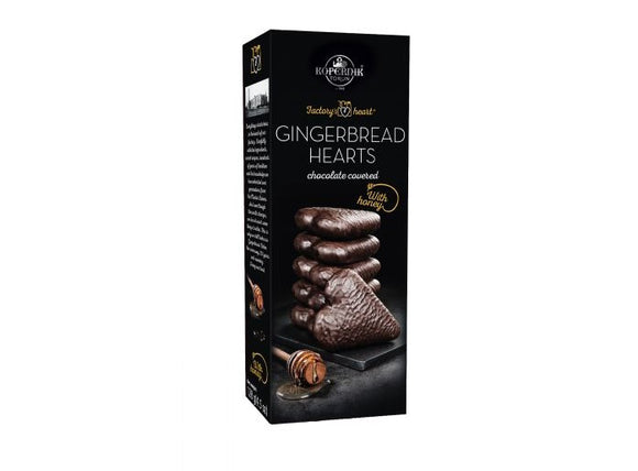 Kopernik Chocolate Covered Hearts 128g