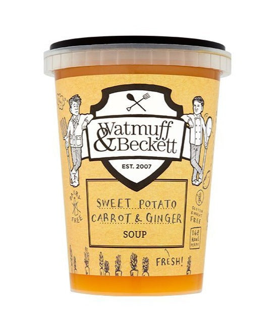 Watmuff & Beckett Carrot Sweet Potato Soup 600g