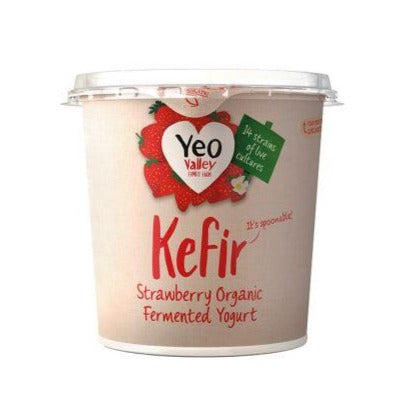 Yeo Valley Strawberry Kefir 350g