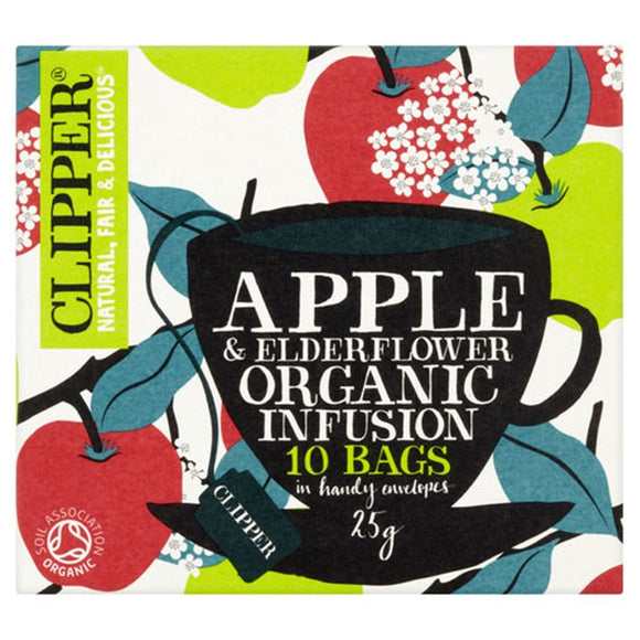 Clipper Apple & Elderflower Infusion (10 bags)