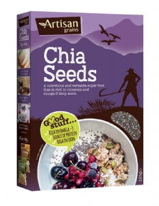 Artisan Grains Chia Seeds 125 G