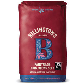 Billingtons Dark Brown Soft Fairtrade Sugar 500g