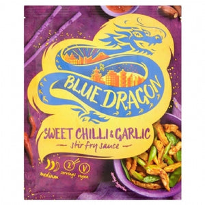 Blue Dragon Sweet Chilli And Garlic 120g