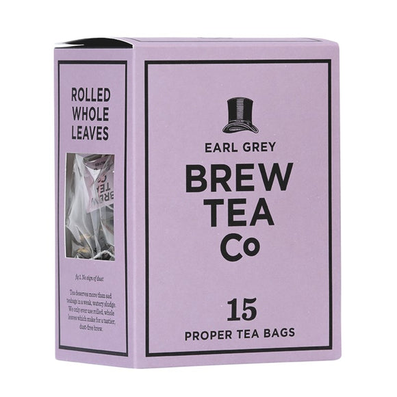 Brew tea Co Earl Grey  (15 tea bags)