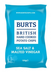 Burts Sea Salt & Vinegar 150g
