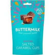 Buttermilk Salted Caramel Chocolate cups (V)  100g