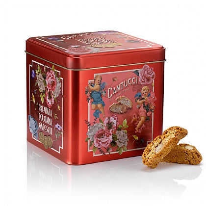 Gadeschi- Mini cantucci biscuits in a tin  200g