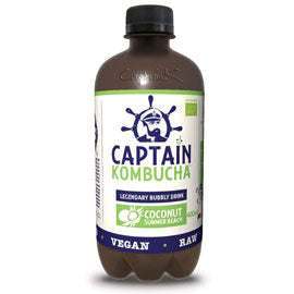 Captain Kombucha Coconut 400ml