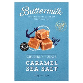 Buttermilk Caramel Sea Salt Crumbly Fudge 150g