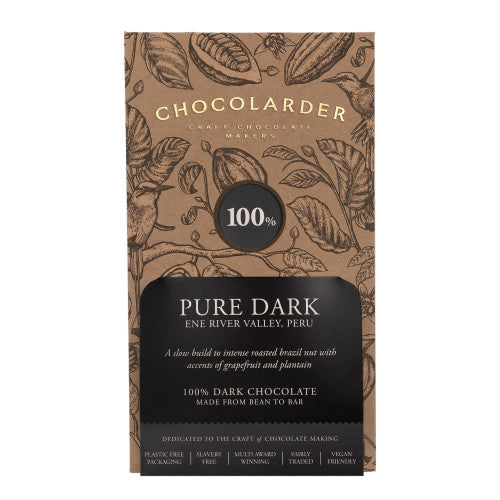 Chocolarder Cornish Pure Dark 100% (70g)